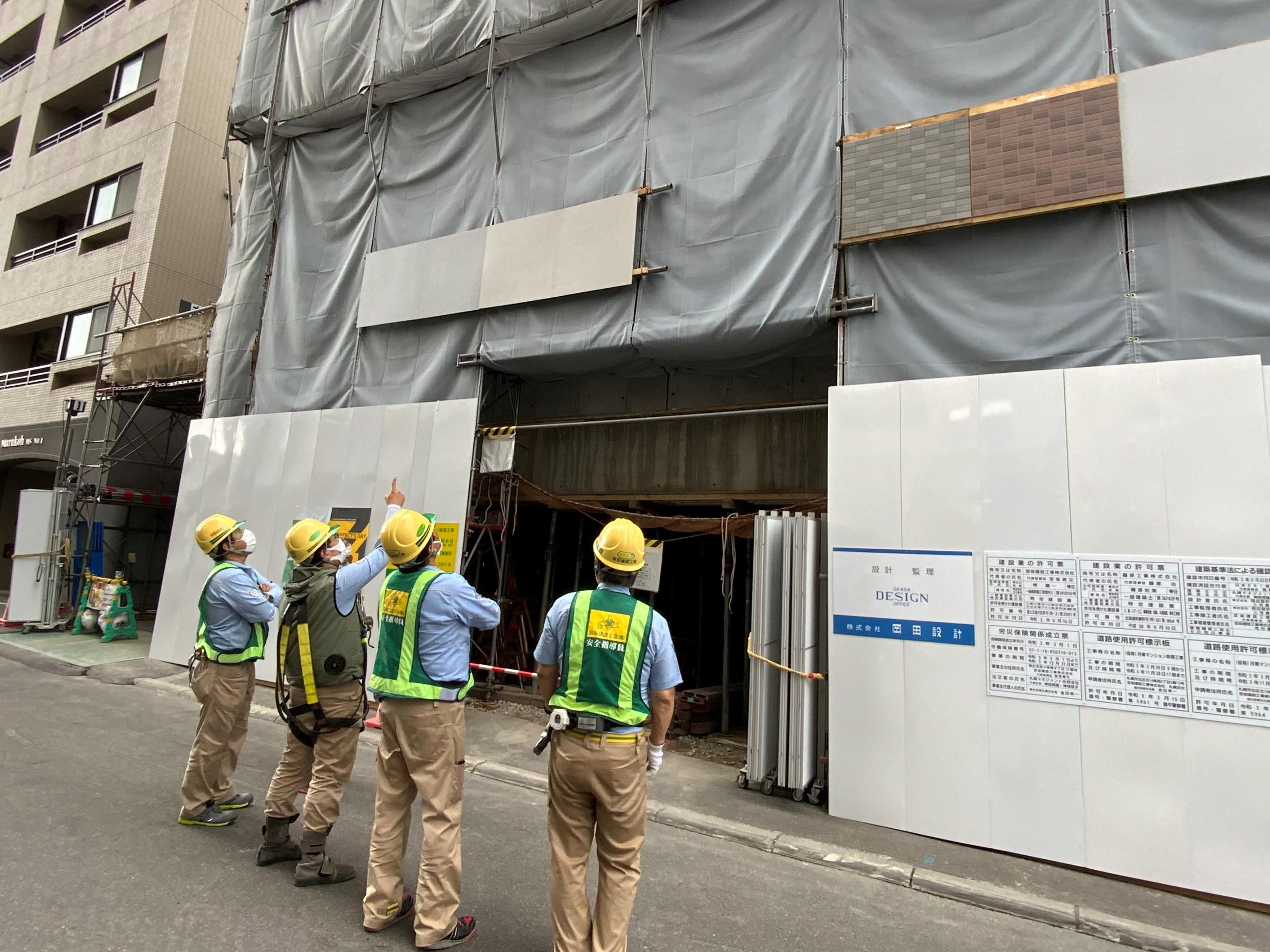 (仮称)月寒マンション 新築工事
